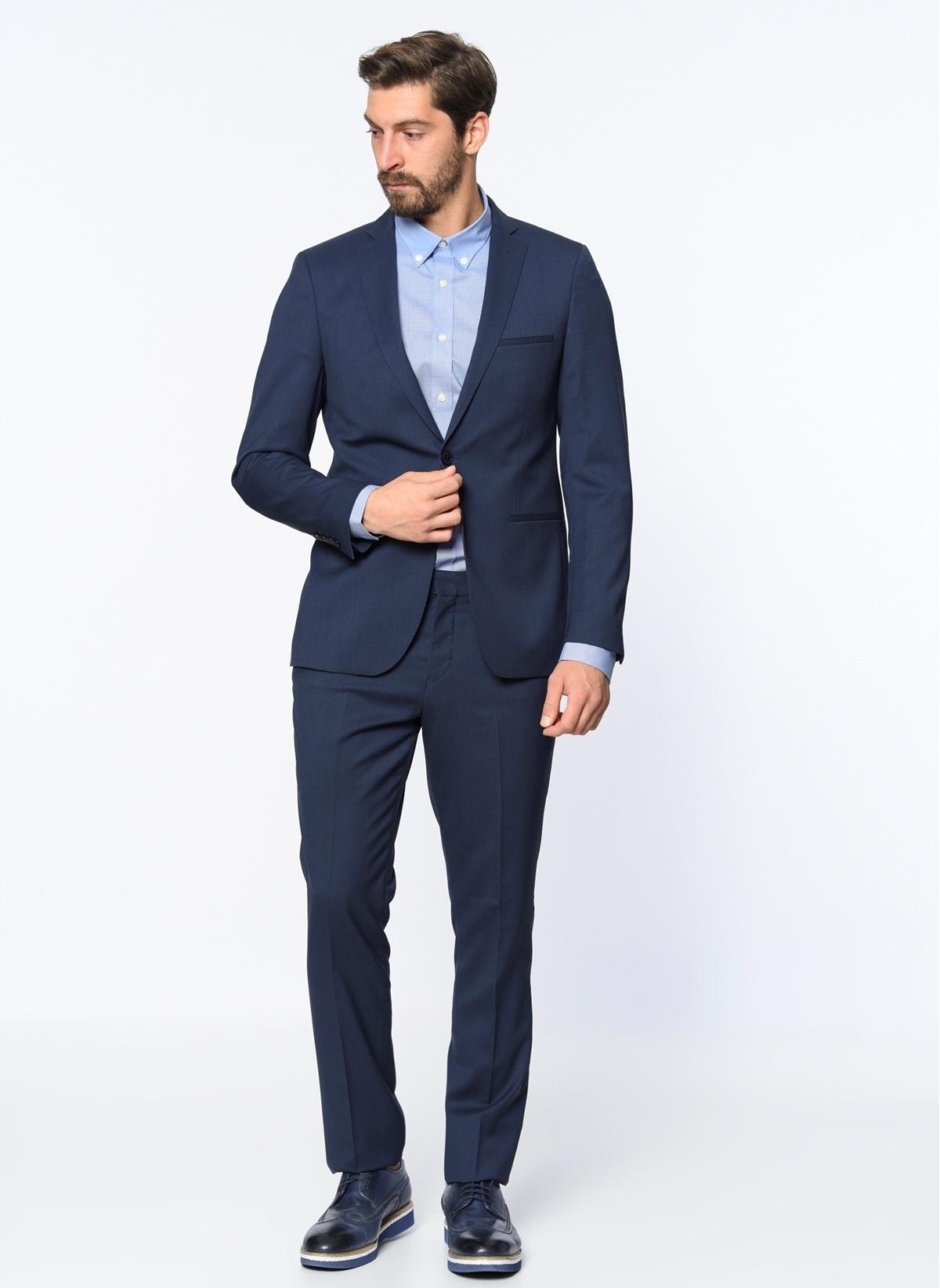 1e974fd5ea8d3 Beymen Business Erkek Takım Elbise Mavi | Kargo Bedava | İndirimli ...